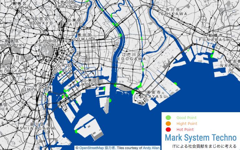 東京湾奥シーバス釣果予測システム ツレダス